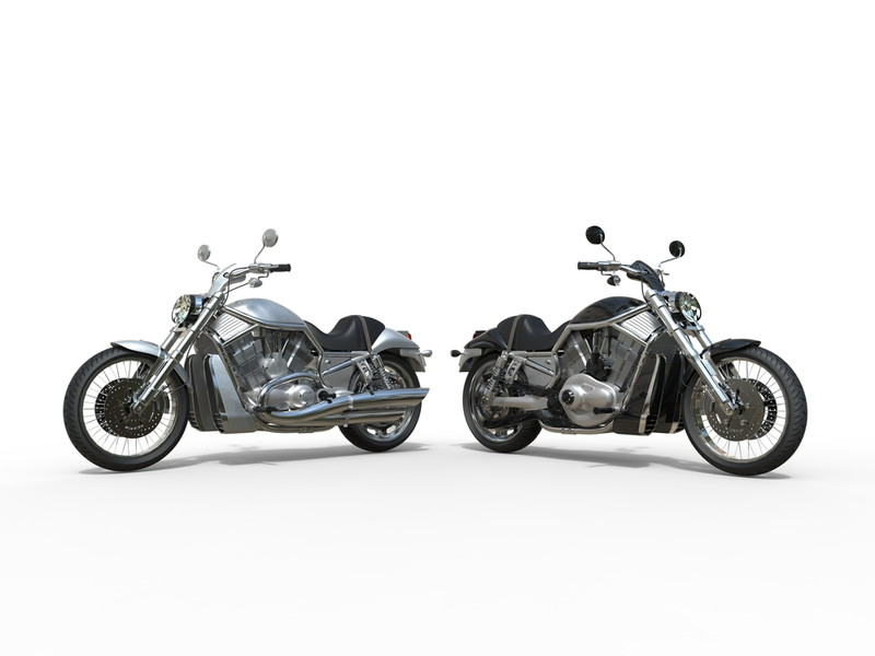 2台のバイク