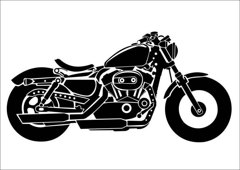 バイク シルエット